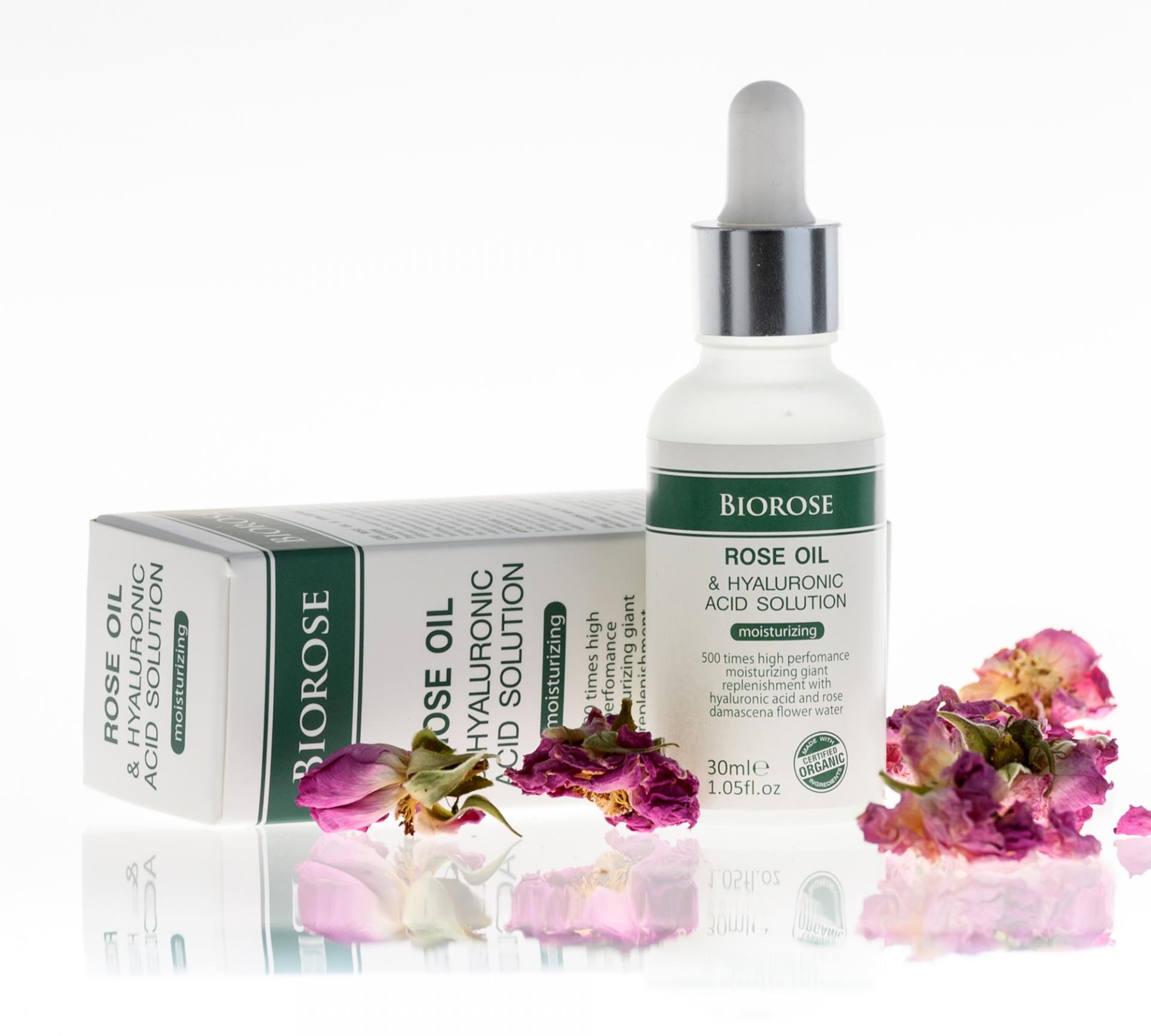 Üdítő selymesség (Hyaluronsavas antiallergén hidratáló olaj) - Biorose